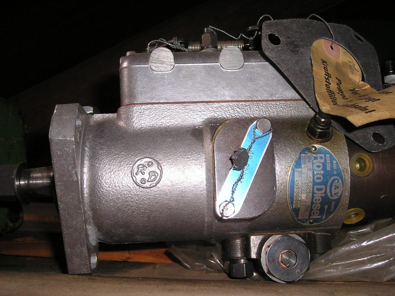 gebraucht-CAV-Roto-Diesel-Einspritzpumpe-John-deere