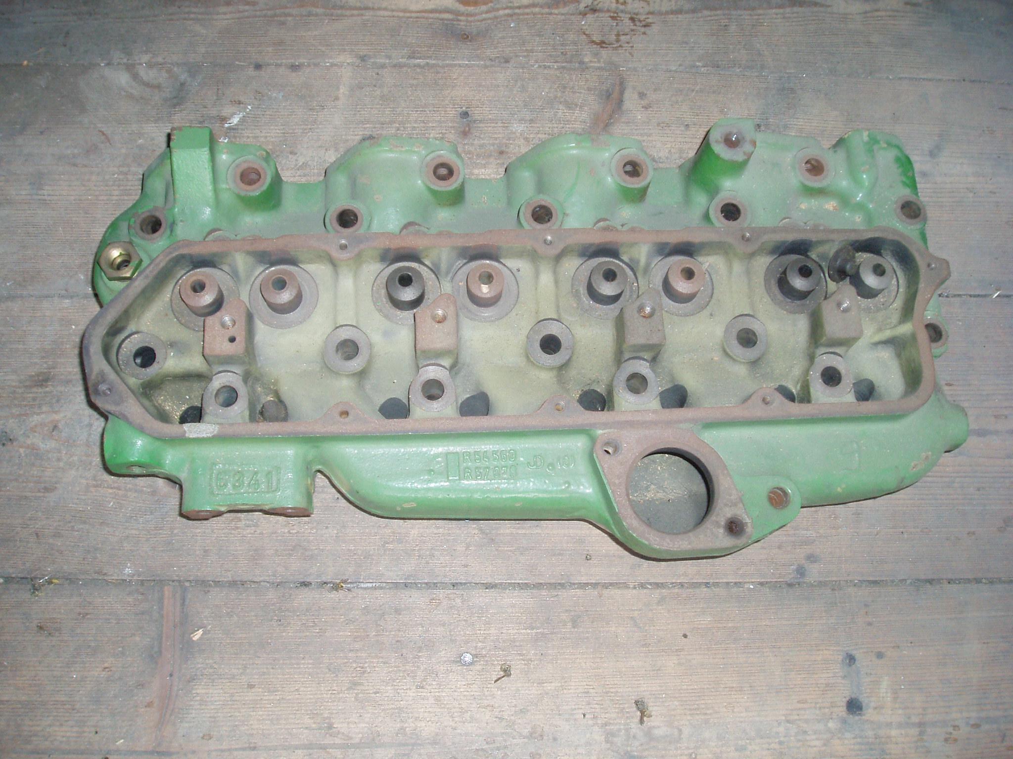 John Deere Zylinderkopf 4 Zylinder Gebrauchte Ersatzteile